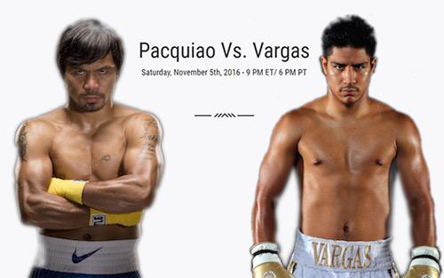 Chi tiết Pacquiao – Vargas: Đẳng cấp lên tiếng (KT) - 11