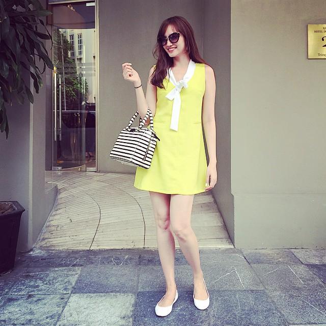 """""""Đột nhập"""" tủ đồ hiệu xa xỉ của Hoa hậu Trúc Diễm - 12"""