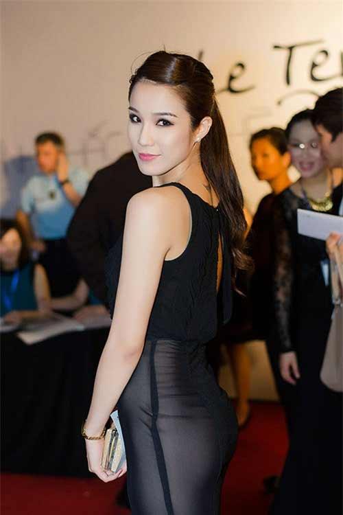 Váy áo khiến mỹ nữ Việt bị hiểu nhầm hở hang - 10