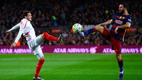 "Sevilla - Barca: ""Công thành"" Sanchez Pizjuan - 1"