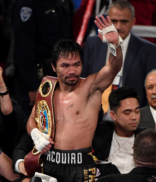 Pacquiao–Vargas: Giành đai, hẹn tái đấu Mayweather - 11