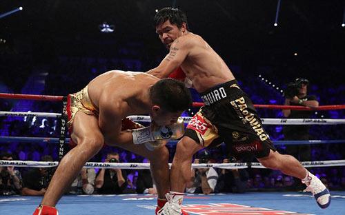 Pacquiao–Vargas: Giành đai, hẹn tái đấu Mayweather - 4