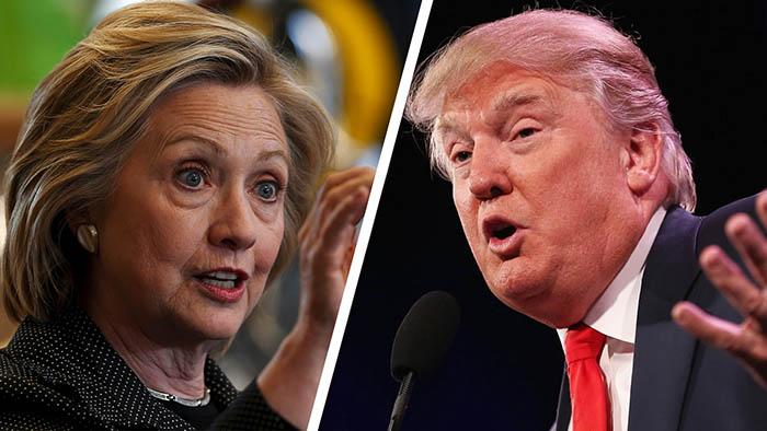 """""""Cửa"""" thắng cho Trump, Clinton tại các bang chiến địa - 1"""