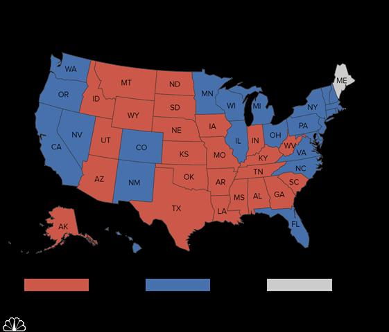 """""""Cửa"""" thắng cho Trump, Clinton tại các bang chiến địa - 2"""