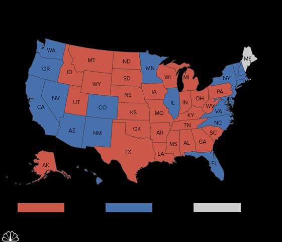 """""""Cửa"""" thắng cho Trump, Clinton tại các bang chiến địa - 3"""