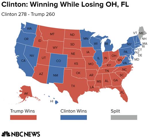 """""""Cửa"""" thắng cho Trump, Clinton tại các bang chiến địa - 4"""