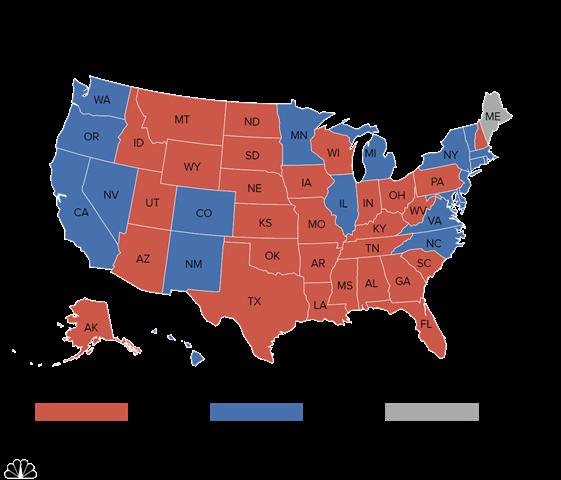 """""""Cửa"""" thắng cho Trump, Clinton tại các bang chiến địa - 5"""