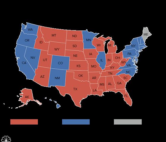 """""""Cửa"""" thắng cho Trump, Clinton tại các bang chiến địa - 6"""