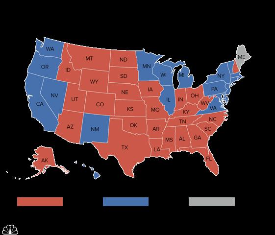 """""""Cửa"""" thắng cho Trump, Clinton tại các bang chiến địa - 7"""