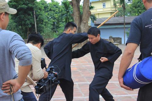 Hé lộ cảnh Công Lý đả võ điêu luyện trong phim hài Tết - 2