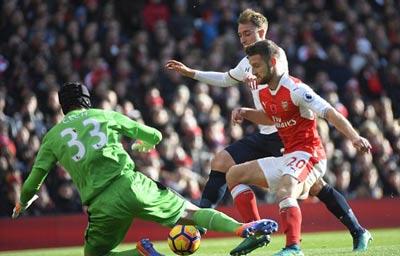 Chi tiết Arsenal - Tottenham: Cột dọc cứu chủ nhà (KT) - 3