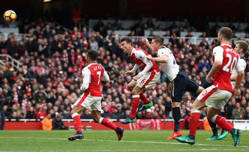 Arsenal - Tottenham: Hồi hộp phút chót - 1