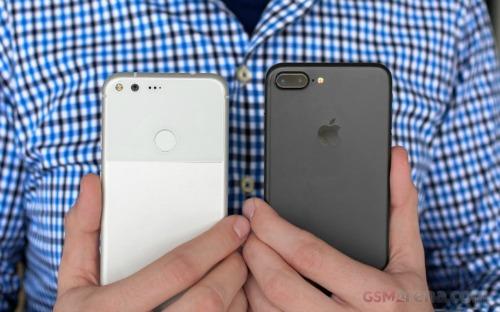 iPhone 7 Plus đọ sức cùng Google Pixel XL - 9