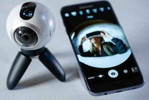 """Trải nghiệm """"mắt thần"""" quay phim, chụp ảnh 360 độ Gear 360 - 4"""