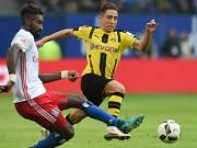 "Bóng đá - Hamburg - Dortmund: Cú poker của ""Người Dơi"""