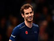"""Thể thao - Chung kết Paris Masters: Murray sẽ """"song hỉ lâm môn""""?"""