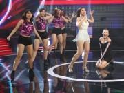 """Ca nhạc - MTV - Tóc Tiên """"gục ngã"""" trên sân khấu vì nữ DJ bốc lửa"""