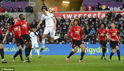 Chi tiết Swansea - MU: Không thể có bất ngờ (KT) - 7