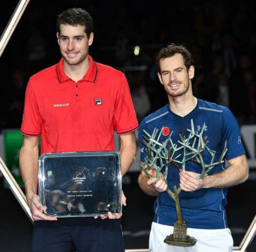 Murray - Isner: Vượt ải giành vinh quang (CK Paris Masters) - 2