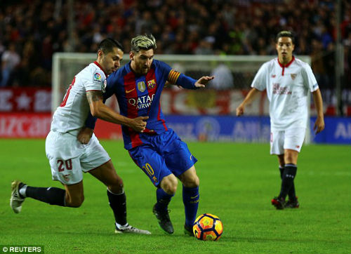 Góc chiến thuật Sevilla - Barca: Hãy cản Messi nếu có thể - 2