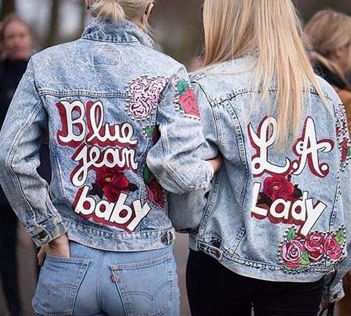 Tiết lộ lý do nàng đều mê mẩn áo khoác jeans thêu - 1