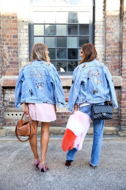 Tiết lộ lý do nàng đều mê mẩn áo khoác jeans thêu - 2