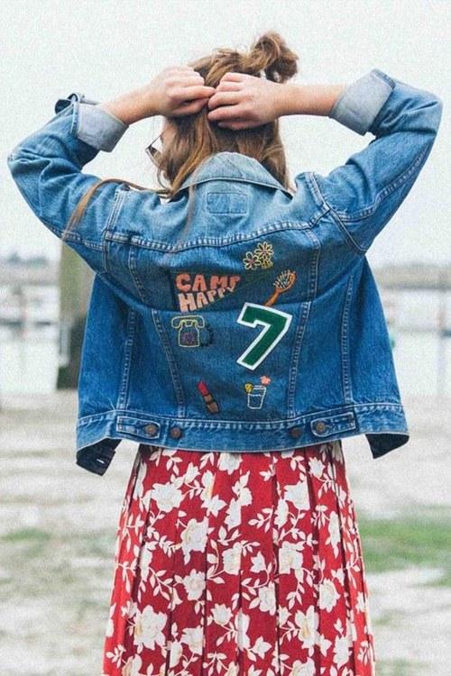 Tiết lộ lý do nàng đều mê mẩn áo khoác jeans thêu - 11