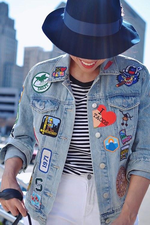 Tiết lộ lý do nàng đều mê mẩn áo khoác jeans thêu - 8