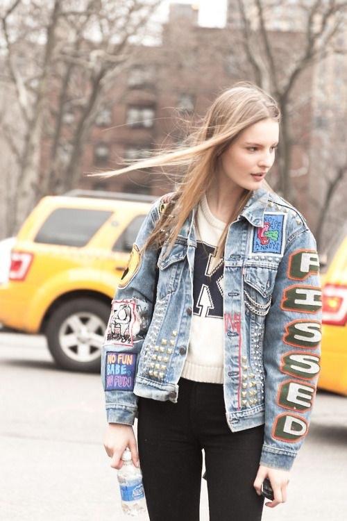 Tiết lộ lý do nàng đều mê mẩn áo khoác jeans thêu - 7