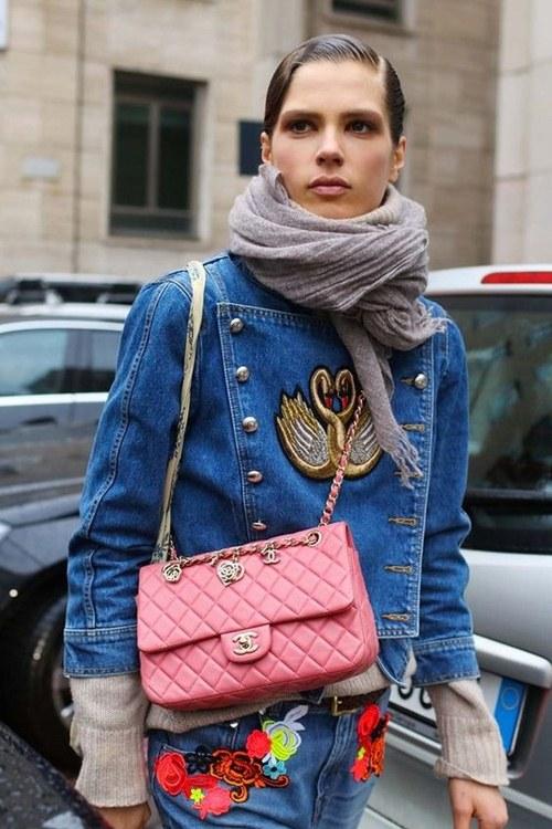 Tiết lộ lý do nàng đều mê mẩn áo khoác jeans thêu - 12