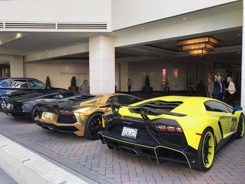 Gia Lai Team khoe dàn siêu xe Lamborghini khủng trên đất Mỹ - 10