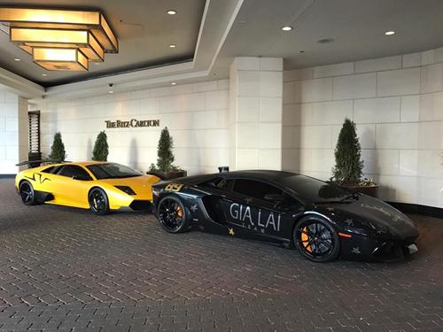 Gia Lai Team khoe dàn siêu xe Lamborghini khủng trên đất Mỹ - 6