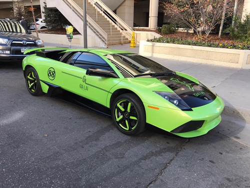 Gia Lai Team khoe dàn siêu xe Lamborghini khủng trên đất Mỹ - 7