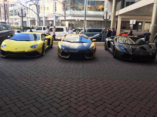 Gia Lai Team khoe dàn siêu xe Lamborghini khủng trên đất Mỹ - 9
