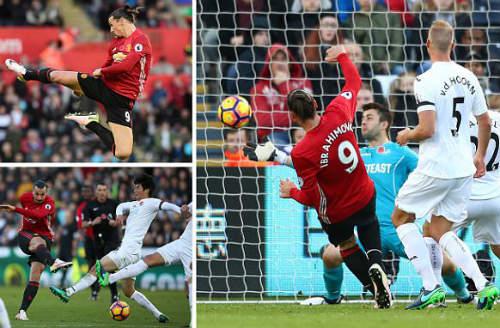 MU: Ibrahimovic ghi bàn thứ 25.000, lỡ đại chiến Arsenal - 1
