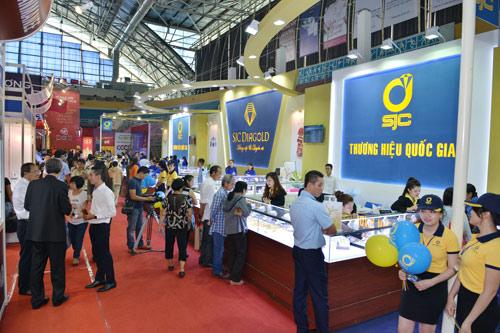 Ấn tượng hội chợ Quốc tế Trang sức Việt Nam 2016 - 3