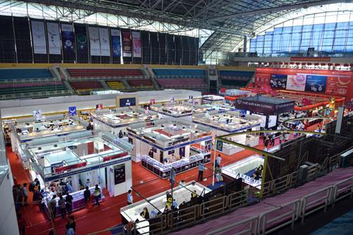 Ấn tượng hội chợ Quốc tế Trang sức Việt Nam 2016 - 4