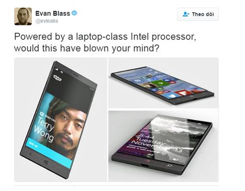 Surface Phone có vi xử lý mạnh như laptop - 1