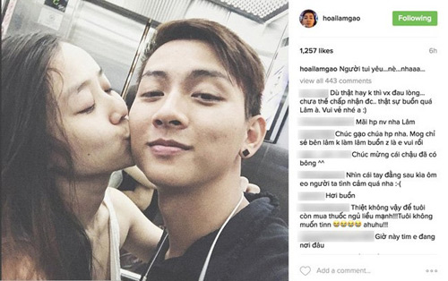 Con trai Hoài Linh kể chuyện tình 5 năm với cô gái 19 tuổi - 1