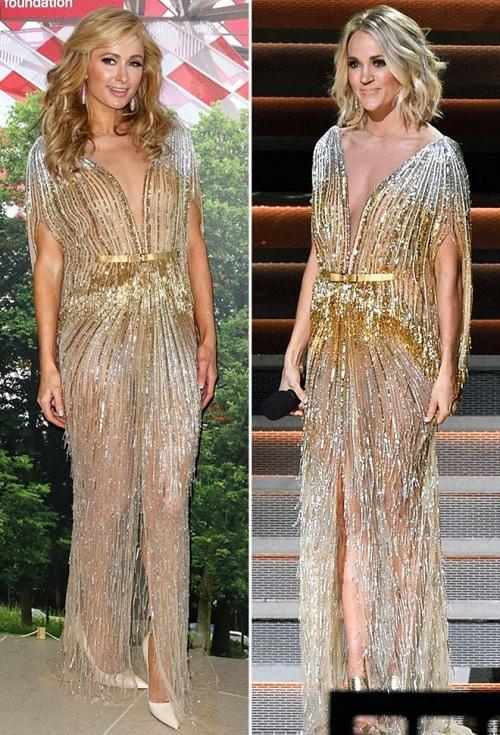 """Dàn mỹ nhân Hollywood """"đụng"""" váy áo """"yêu nữ hàng hiệu"""" Paris Hilton - 2"""