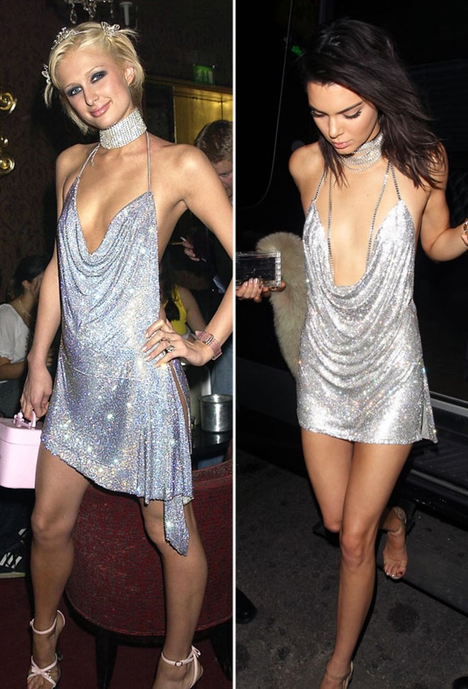 """Dàn mỹ nhân Hollywood """"đụng"""" váy áo """"yêu nữ hàng hiệu"""" Paris Hilton - 3"""