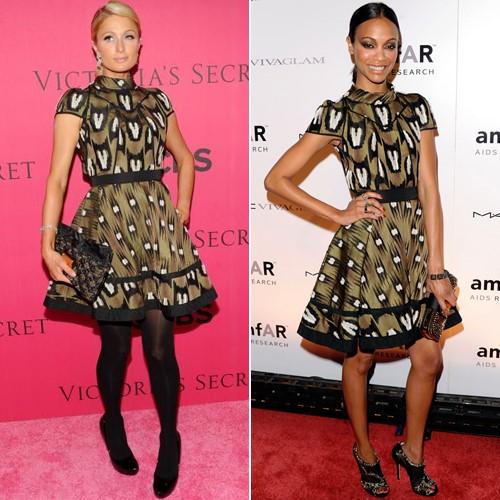 """Dàn mỹ nhân Hollywood """"đụng"""" váy áo """"yêu nữ hàng hiệu"""" Paris Hilton - 7"""