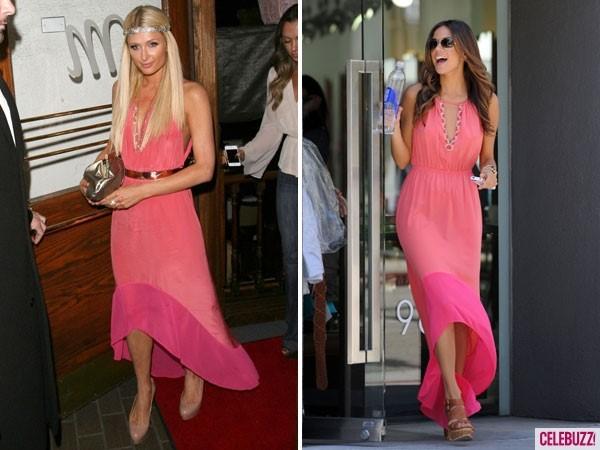 """Dàn mỹ nhân Hollywood """"đụng"""" váy áo """"yêu nữ hàng hiệu"""" Paris Hilton - 9"""