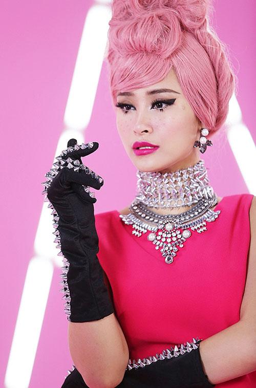 Top 4 kiều nữ Việt nhuộm màu tóc nào cũng đẹp mê hồn - 6