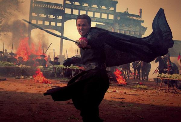 Video phim: Huỳnh Hiểu Minh hỗn chiến trong biển lửa - 4