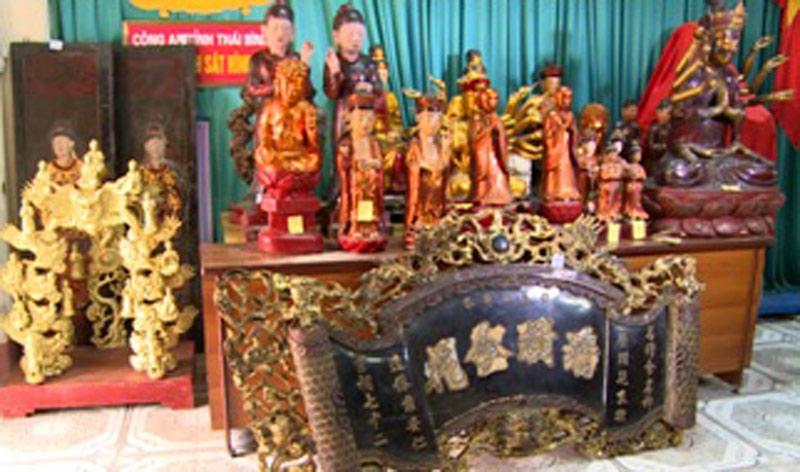 Băng đạo chích chuyên cạy cửa đền, chùa trộm cổ vật - 1