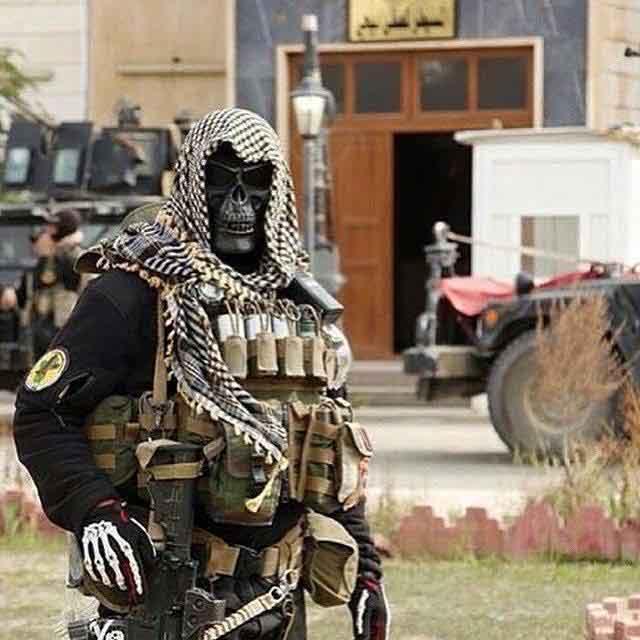 """Bí ẩn đặc nhiệm """"Đội quân vàng"""" khiến IS khiếp sợ ở Iraq - 1"""
