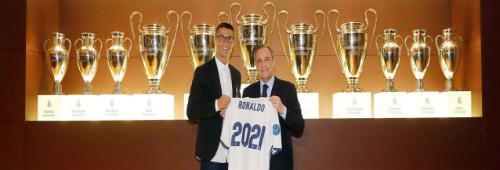 """Ronaldo CHÍNH THỨC ký hợp đồng """"tỷ đô"""" với Real - 2"""