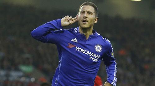 """Chelsea: Hazard bùng nổ nhờ được """"yêu"""" như Messi, CR7 - 1"""