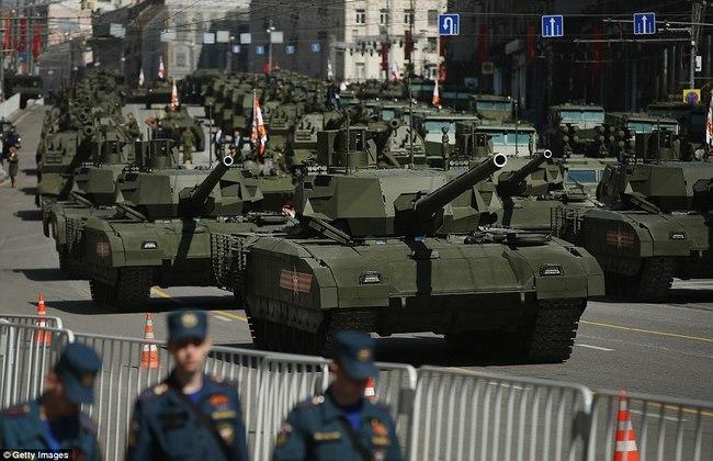 Siêu tăng Armata Nga vượt mặt mọi đối thủ phương Tây - 1